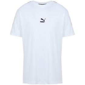 《期間限定セール開催中!》PUMA メンズ T シャツ ホワイト S コットン 100% XTG Tee