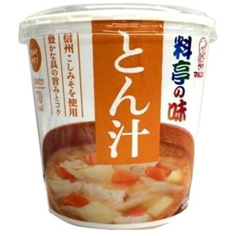 料亭の味 とん汁 カップ 1食 x6