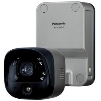 屋外バッテリーカメラ (メタリックブロンズ) KX-HC300S-H