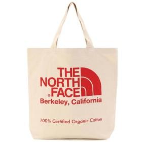(UNCUT BOUND/アンカットバウンド)THE NORTH FACE (ノースフェイス)TNF Organic Cotton ToteBag オーガニックコットントート/メンズ RED