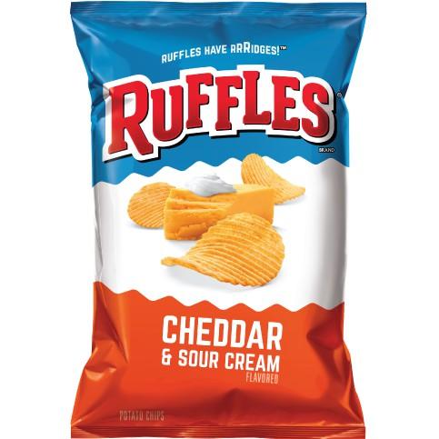 《Ruffles》洋芋片-起士口味(184.2g/包)【Frito-Lay】