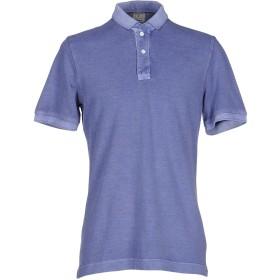 《期間限定セール開催中!》DRUMOHR メンズ ポロシャツ ブルーグレー M コットン 100%