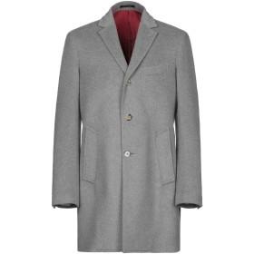 《期間限定 セール開催中》ROYAL ROW メンズ コート グレー 48 ウール 80% / カシミヤ 20%