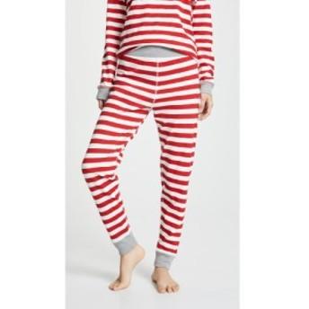 スリーピージョーンズ Sleepy Jones レディース スパッツ・レギンス インナー・下着 Helen Leggings Medium Stripe Red