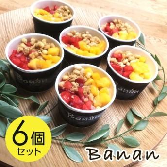 お中元 アイスクリーム ギフト ヘルシースイーツ バナン banan 6個セット