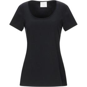 《期間限定セール開催中!》GOTHA レディース T シャツ ブラック 2 コットン 89% / ポリウレタン 11%