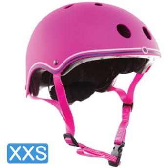 【日本正規代理店品】GLOBBER(グロッバー) キッズ用ヘルメット XXS( 48-51cm) ディープピンク WKGB504114