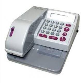 歐元EURO CW 10 微電腦中文 數字雙用型支票機