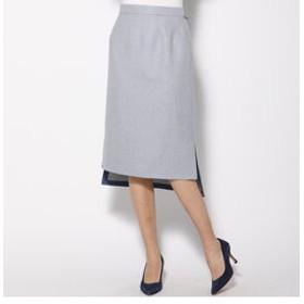 【J Lounge:スカート】バイカラ―スカート