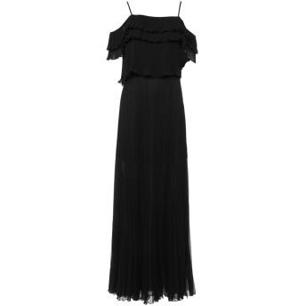 《セール開催中》ANNA RACHELE レディース ロングワンピース&ドレス ブラック 40 ポリエステル 100%