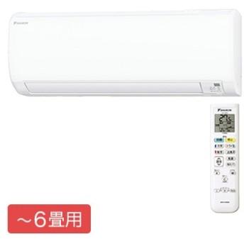 ルームエアコン Eシリーズ おもに6畳用【大型商品(設置工事可)】 S22WTES-W