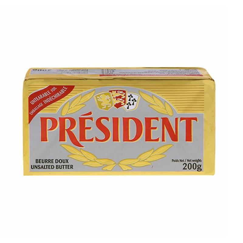 總統牌無鹽奶油塊