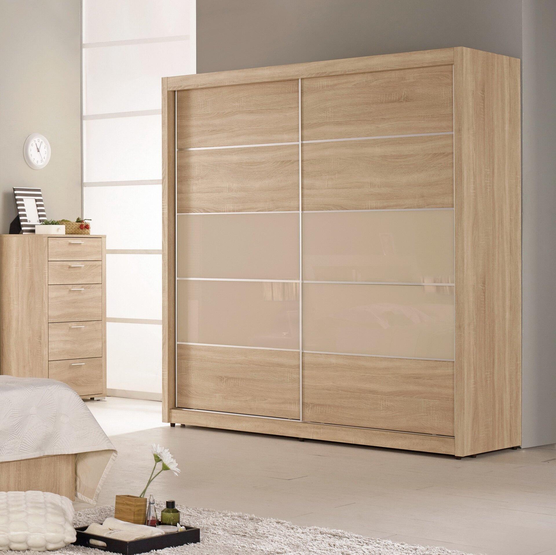 【簡單家具】,G076-1 格瑞斯7尺拉門衣櫥/衣櫃,大台北都會區免運費!