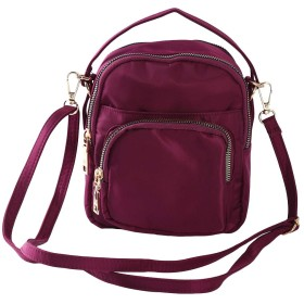 HKUN 斜めがけ トートバッグ レディース ショルダーバッグ 2way オシャレ 外出用 アウトドア カジュアル 旅行 紫色