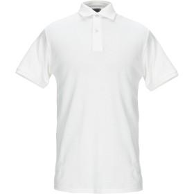 《期間限定セール開催中!》AT.P.CO メンズ ポロシャツ ホワイト M コットン 100%