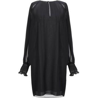 《セール開催中》LE COEUR TWINSET レディース ミニワンピース&ドレス ブラック XS ポリエステル 100%