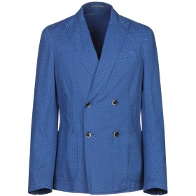 《9/20まで! 限定セール開催中》RODA メンズ テーラードジャケット ブルー 46 コットン 98% / ポリウレタン 2%