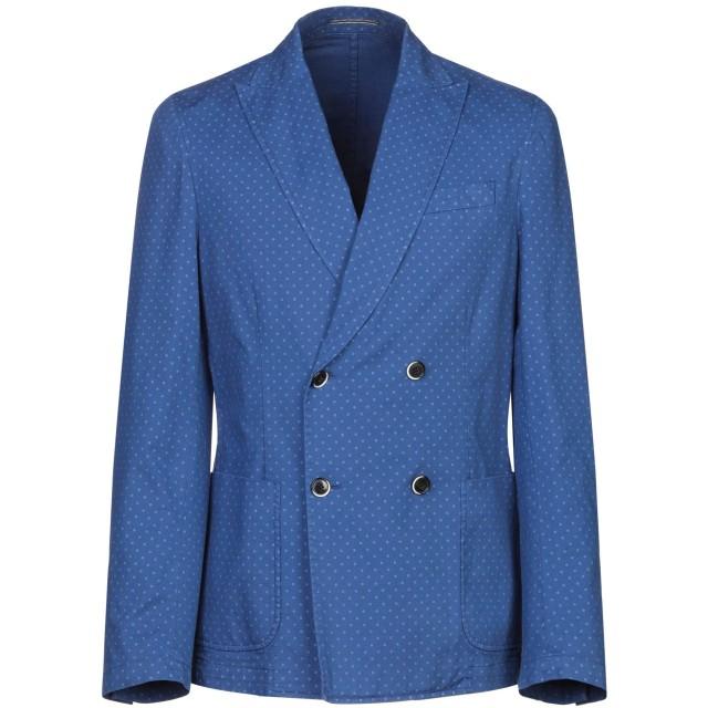 《期間限定セール開催中!》RODA メンズ テーラードジャケット ブルー 46 コットン 98% / ポリウレタン 2%