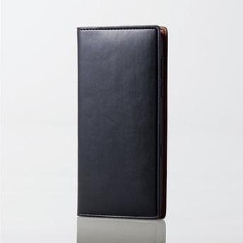 AQUOS R3/ソフトレザーケース/イタリアン(Coronet)/ネロ PM-AQR3PLFYILBK