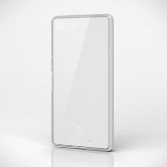 Xperia Ace/ハイブリッドケース/ガラス/スタンダード/クリア PD-XACEHVCG1CR