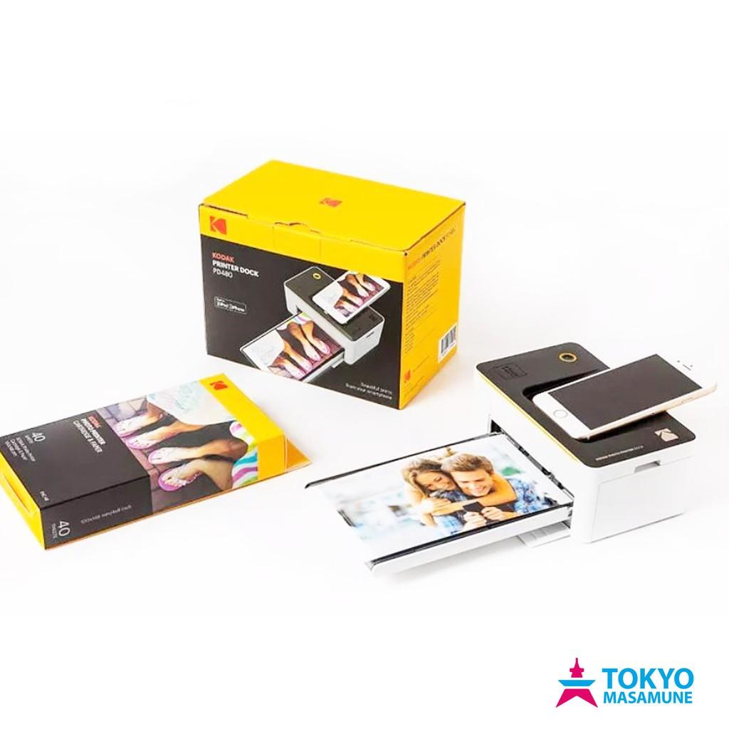 KODAK 柯達 PD-450W 隨身相片印表機 相印機 白色 公司貨 送40張含墨盒