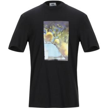 《9/20まで! 限定セール開催中》MSGM メンズ T シャツ ブラック S コットン 100%