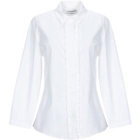 《期間限定 セール開催中》ESSENTIEL ANTWERP レディース シャツ ホワイト 36 コットン 100%