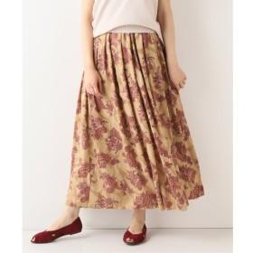 【イエナ/IENA】 ペイズリーフラワーギャザースカート