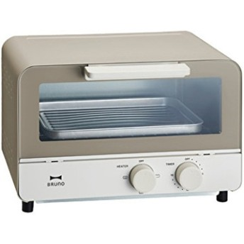 ブルーノ オーブントースター ウォームグレー BOE052-WGY