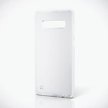 Galaxy S10+/ハイブリッドケース/極み/クリア PM-GS10PHVCKCR