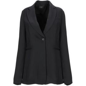 《セール開催中》LIU JO レディース テーラードジャケット ブラック 42 ポリエステル 100%