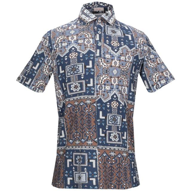 《セール開催中》ALTEA メンズ ポロシャツ ブルー M コットン 100%