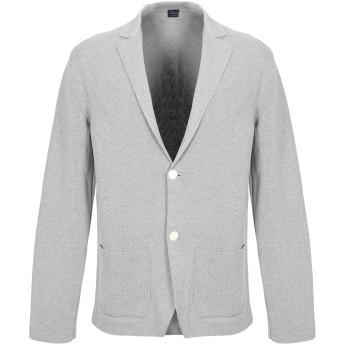 《セール開催中》DRUMOHR メンズ テーラードジャケット ライトグレー 50 100% コットン