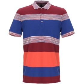 《期間限定セール開催中!》MISSONI MARE メンズ ポロシャツ ボルドー M コットン 100%
