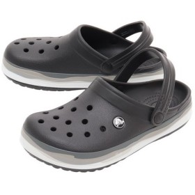 クロックス(crocs) CROCBAND WAVY BAND CLOG #205573-0C4 (Men's、Lady's)