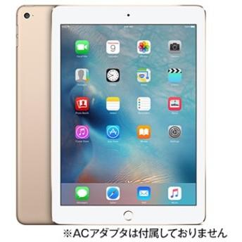[認定CPO品]iPad Air2 9.7 128GB Gold WiFi 海外モデル(ACアダプタ別売) FGTY2LL/A_A1566