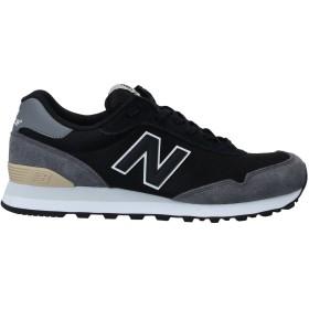 《9/20まで! 限定セール開催中》NEW BALANCE メンズ スニーカー&テニスシューズ(ローカット) ブラック 7 革 / 紡績繊維