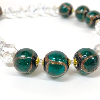 Lampwork Glass Beads Necklace 90