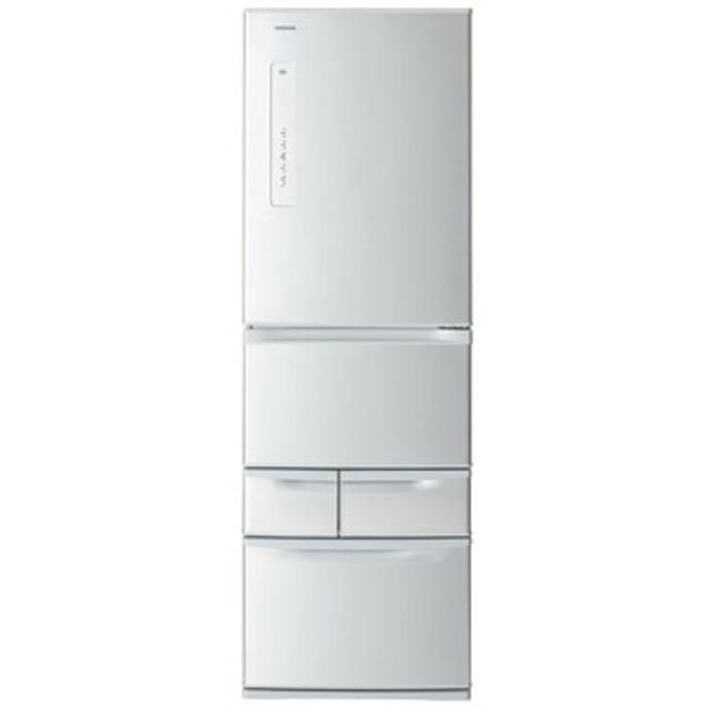 5ドア冷蔵庫(410L) ベジータ 右開き シルバー【大型商品(設置工事可)】 GR-K41G-S