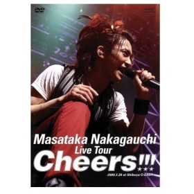 Live Tour「Cheers!!!」/中河内雅貴