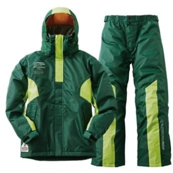 ■防水防寒スーツ・ジョー グリーン L