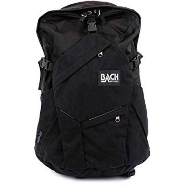 [ バッハ ] BACH バックパック 27L リュック リュックサック Wizard 27 ウィザード 127211 ブラック Backpack Black 多機能 ナイロン バック A4 [並行輸入品]
