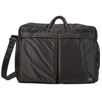 カバンのセレクション 吉田カバン ポーター タンカー ボストンバッグ メンズ 出張 大容量 32L PORTER TANKER 622 68329 ユニセックス ブラック フリー 【Bag & Luggage SELECTION】