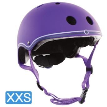 【日本正規代理店品】GLOBBER(グロッバー) キッズ用ヘルメット XXS( 48-51cm) バイオレット WKGB504103