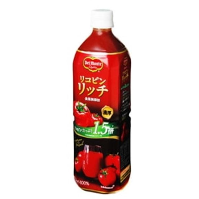 リコピンリッチ トマト飲料 ペット 900g x12