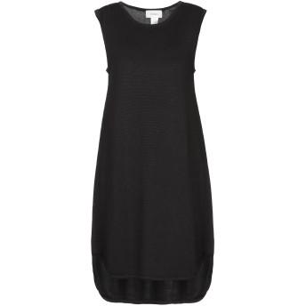 《セール開催中》VICOLO レディース ミニワンピース&ドレス ブラック one size コットン 100%