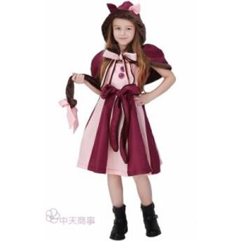 ハロウィン キッズ コスプレ 女の子 親子ペアルック 子供用 猫 動物 変装 パーティー 舞台 童話 猫の女の子 仮面舞踏会 仮装 衣装 可愛い