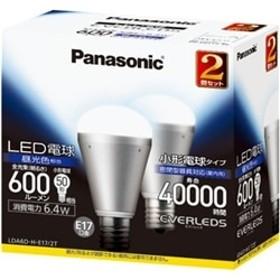 LED電球 6.4W 2個入(昼光色相当) LDA6DHE172T