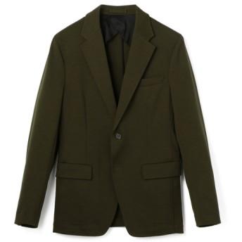 ESTNATION / ウール混ストレッチジャージセットアップジャケット オリーブ/SMALL(エストネーション)◆メンズ テーラードジャケット