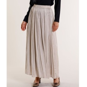 7-ID concept / サテンプリーツスカート